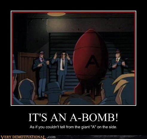 """I Think It's Just """"a Bomb"""""""