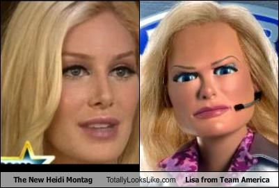 The New Heidi Montag Totally Looks Like Lisa from Team America
