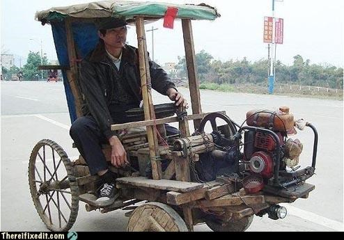 New car in China