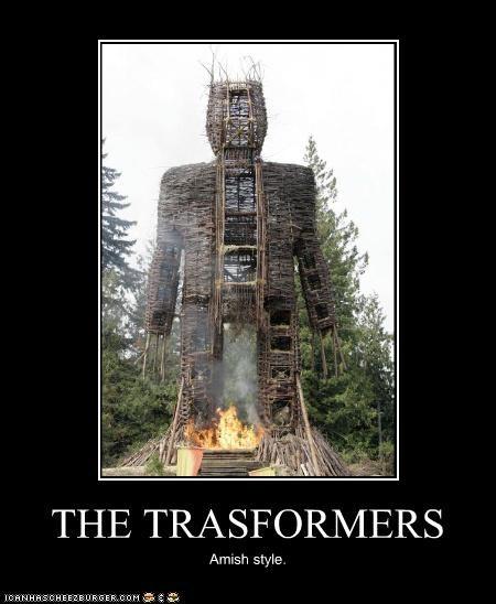 the wicker man,transformers