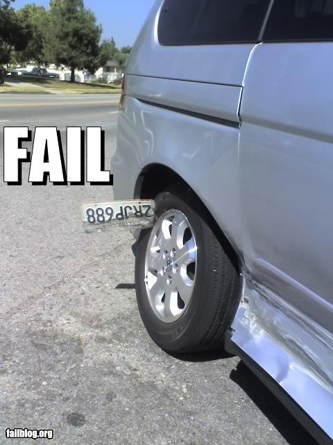 Hit and Run Fail