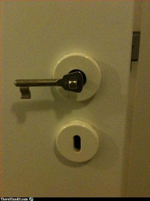 The Key opens the door