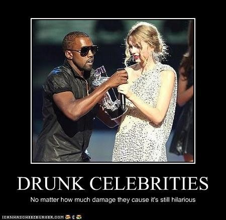 21 celebrities who drink too much..