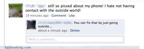 drama,go outside,phone,whining