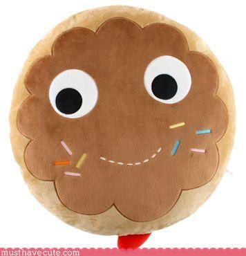 cookies,food,Pillow,Plushie