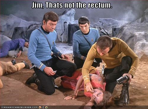 Jim, Thats not the rectum.
