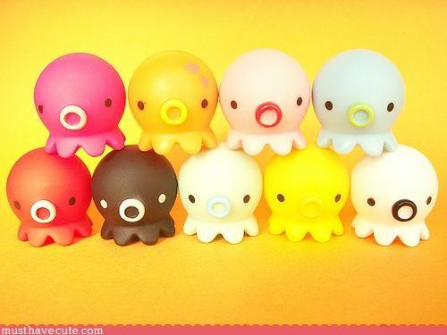 rainbow,squid,sweet,toys