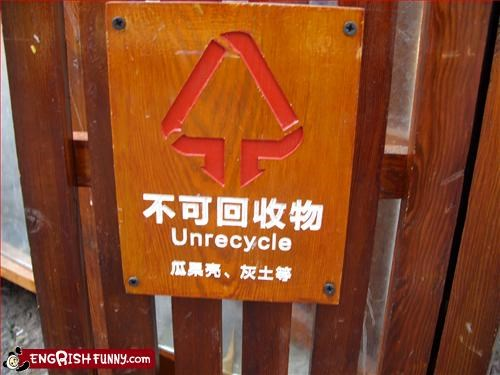 recycle,sign,unrecycle