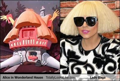 alice in wonderland,hair cut,hair style,house,lady gaga