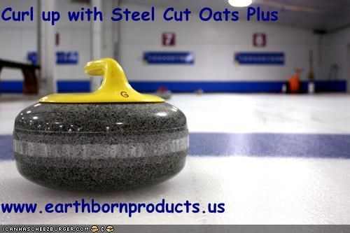 Curl up with Steel Cut Oats Plus  www.earthbornproducts.us