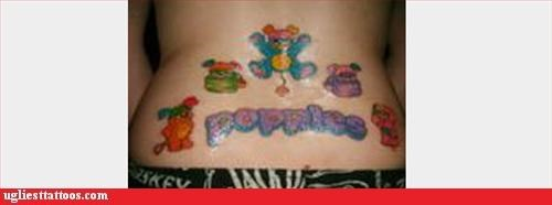 pop culture,the eighties,toys and games,tramp stamps