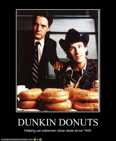 donuts,kyle mclachlan,michael ontkean,Twin Peaks