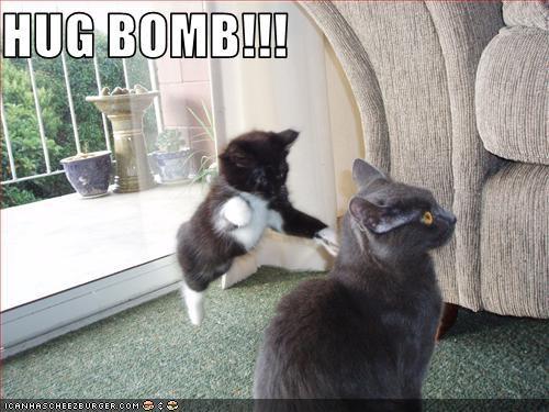 HUG BOMB!!!