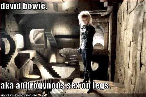 david bowie.   aka androgynous sex on legs.
