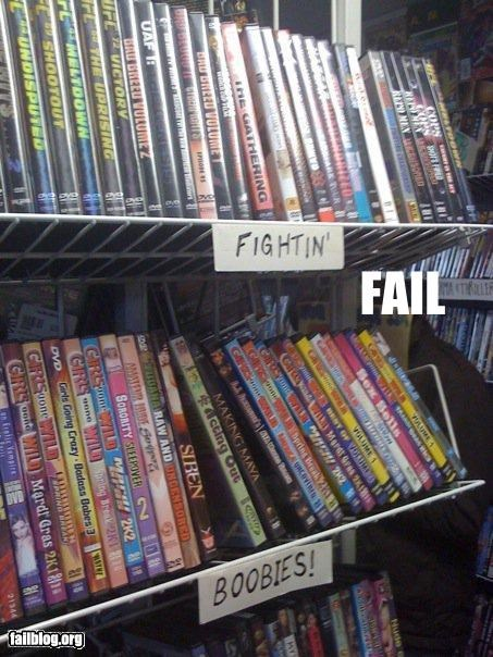 Movie Choice Fail