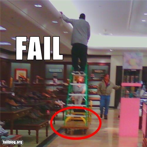Ladder Fail