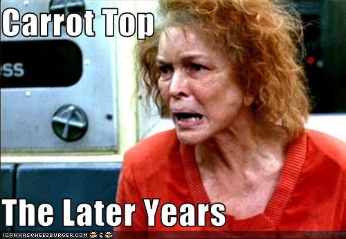Carrot Top  The Later Years