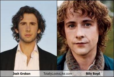 Josh Groban Totally Looks Like Billy Boyd