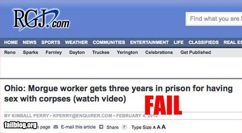 Headline Fail