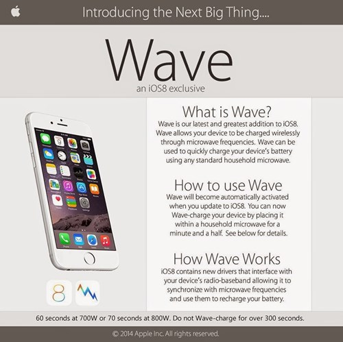 wave,iphone wave,iphone 6,4chan,iOS 8,apple