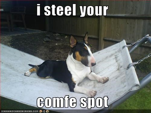 i steel your  comfe spot