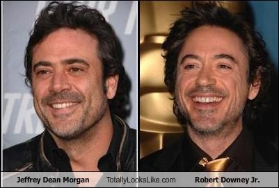 Jeffrey Dean Morgan Totally Looks Like Robert Downey Jr.