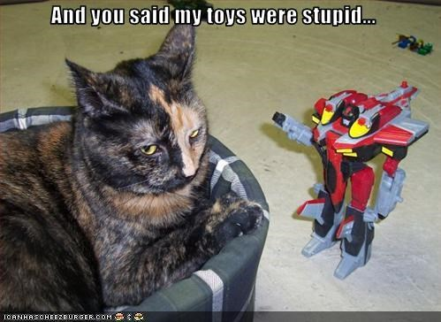 And you said my toys were stupid...