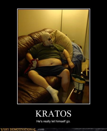 Once All the Gods Were Dead Kratos Just Relaxed