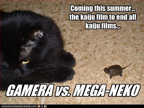 GAMERA vs. MEGA-NEKO
