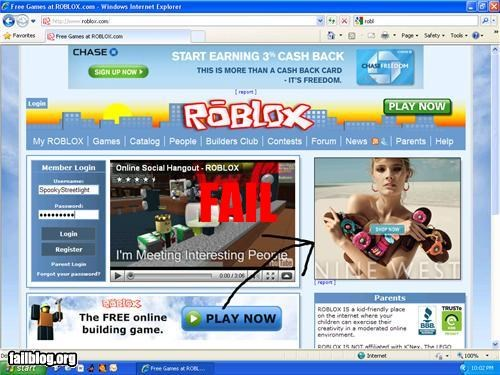 ROBLOX Fail