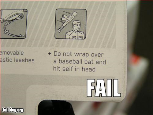 Safety Label Fail