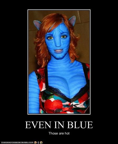 EVEN IN BLUE