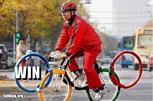 bicycle,bike,g rated,olympics,ring,tribute