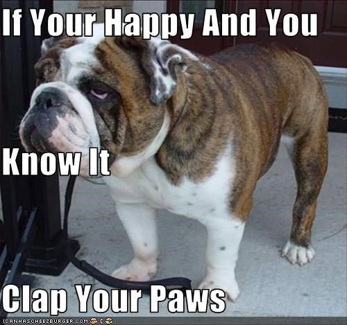 If Your Happy And You Know It Clap Your Paws
