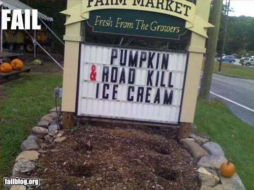 Ice Cream Fail