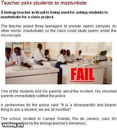 Teacher Fail