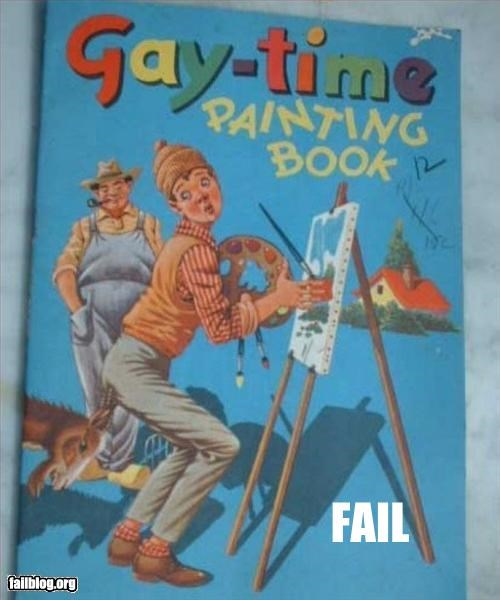 books,gay,old fashioned,painting,title