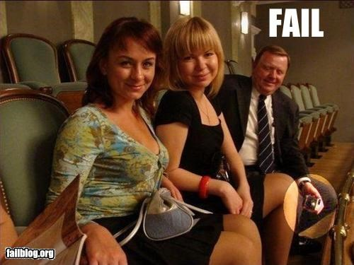 Photographer Fail