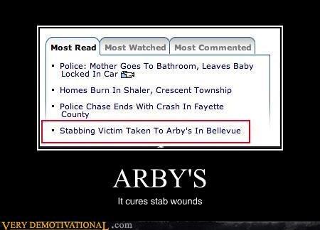 I'm Thinking Arby's