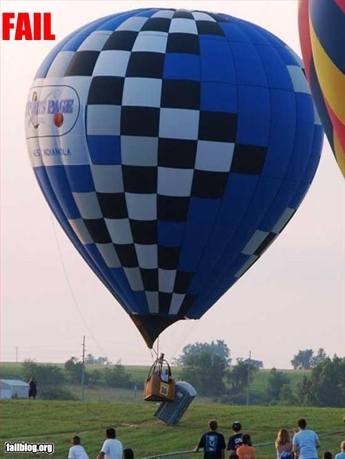 Hot Air Balloon Fail
