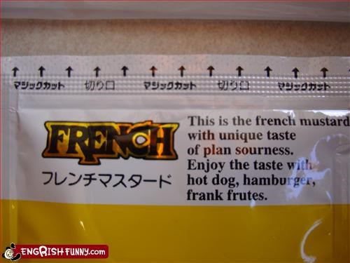 enjoy,food,french,g rated,hamburger,hot dogs,mustard,sour,taste
