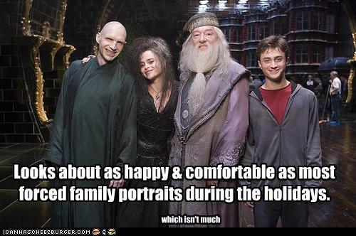 Daniel Radcliffe,family,Harry Potter,helena bonham-carter,holidays,Michael Gambon,ralph fiennes,sci fi