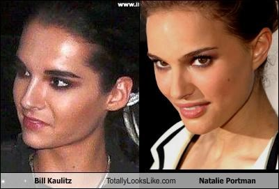 Bill Kaulitz Totally Looks Like Natalie Portman