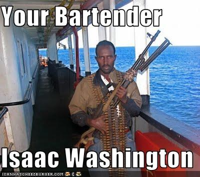 Your Bartender  Isaac Washington