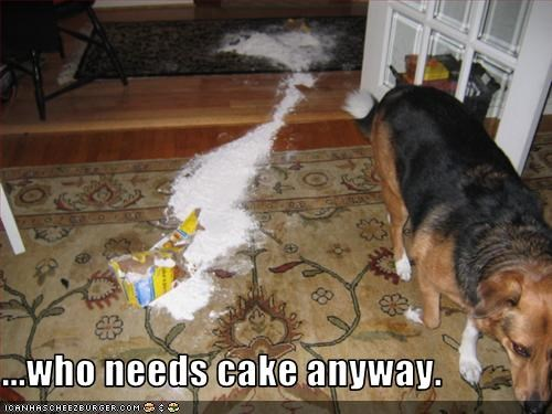 ...who needs cake anyway.