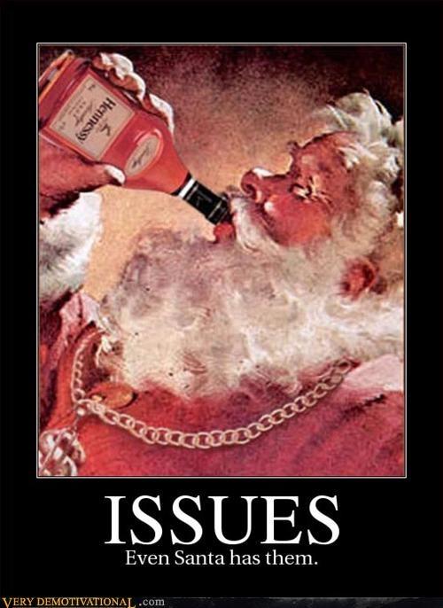 drinking,santa,hennessy