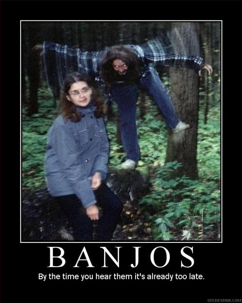 Damn Those Banjos