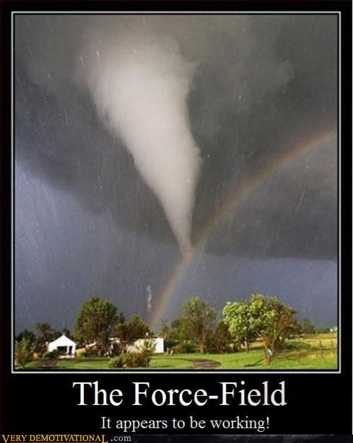 You Have a Rainbow Forcefield?