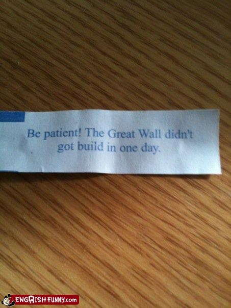 fortune,fortune cookie,g rated,great wall of china,patient