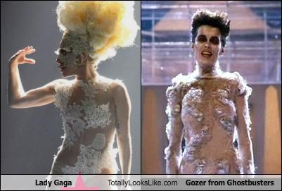 Lady Gaga Totally Looks Like Gozer from Ghostbusters